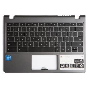 Palmrest with Keyboard (OEM PULL) for Acer Chromebook 11 C720 / C720P (Touch) / C740