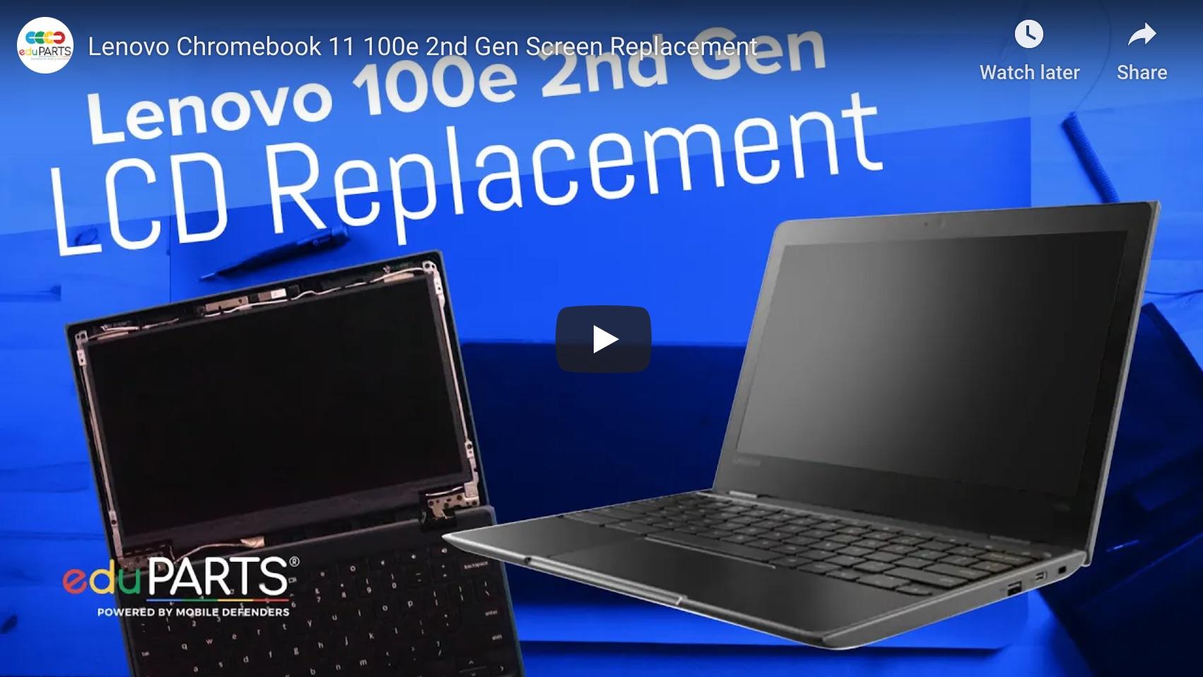 Video of Lenovo Chromebook Teardown